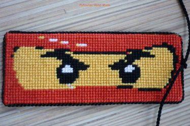 cytrulinahandmade.pl haft krzyżykowy zakładka ninjago 0419