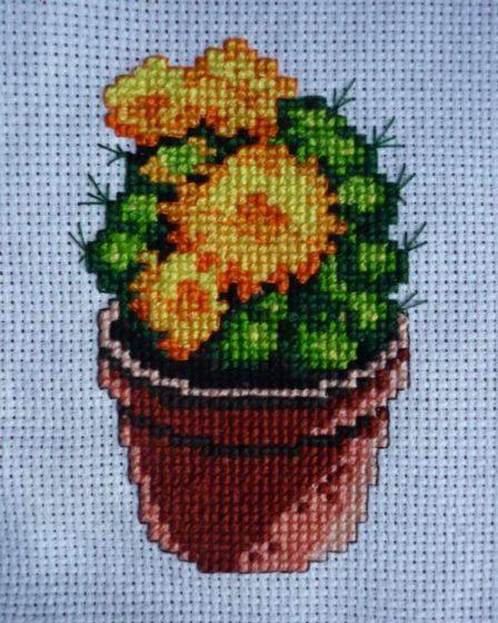 cytrulinahandmade.pl haft krzyżykowy kaktus cz. 5 0475