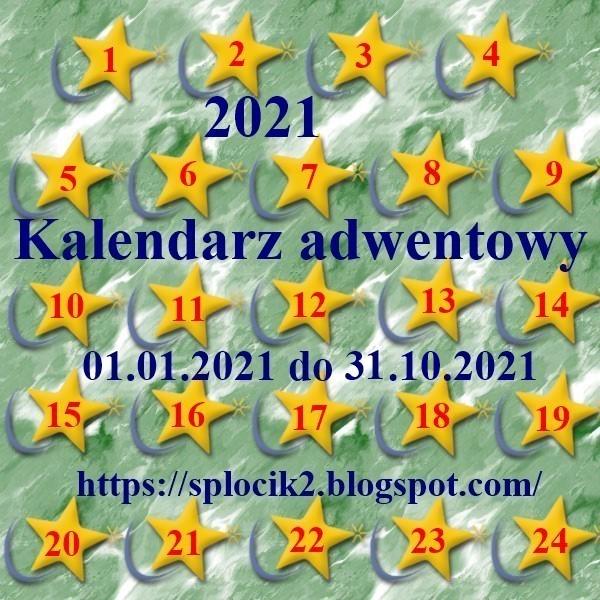 kalendarzadwbaner - Kalendarz adwentowy - styczeń